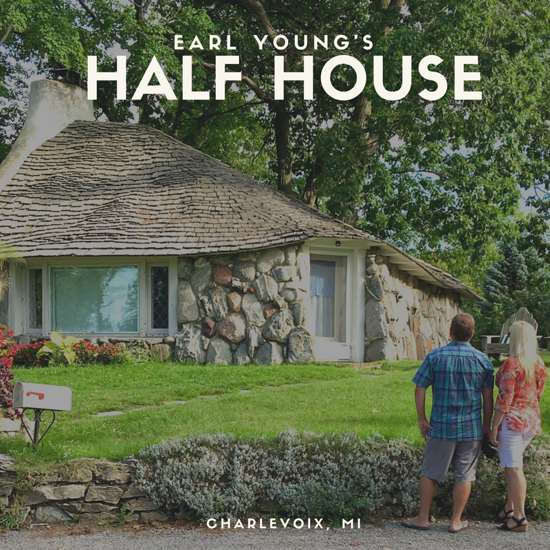 Have You Ever Wondered Why Earl Young Built Half Of A House