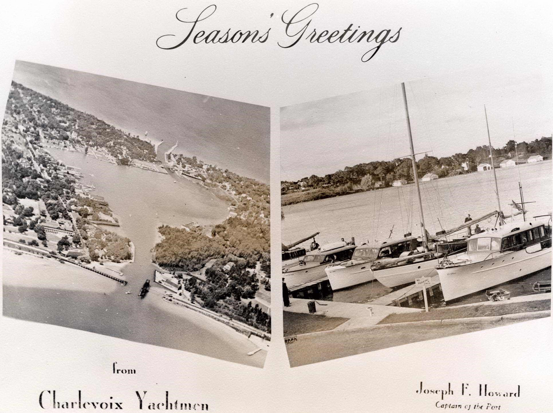 a73ee86bf0d7 The Charlevoix Historical Society has a collection of commemorative holiday  cards. They are sharing several of their favorite cards with us!